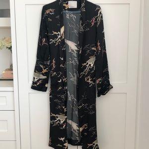 Printed Wilfred Kimono jacket